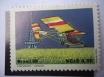 Stamps Brazil -  Aero Desporto - Ultraleve - Ultraligero - Airway  Santos Dumont Ultralive