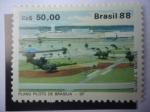 Sellos de America - Brasil -  Plan Piloto de brasilia - DF