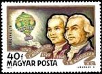 Sellos de Europa - Hungría -  Historia de Aeronaves