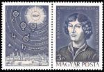 Sellos de Europa - Hungría -  Personalidades, Nicolás Copérnico (1473-1543) astrónomo
