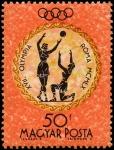 Stamps Hungary -  Juegos Olímpicos de verano 1960 - Roma