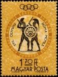 Sellos del Mundo : Europa : Hungría : Juegos Olímpicos de verano 1960 - Roma