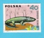 Stamps Poland -  ICHTHYOSTEGA  355  MLNLAT
