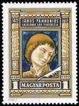Sellos del Mundo : Europa : Hungría : Janus Pannonius (1434-1472) poet