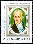 Stamps : Europe : Hungary :   Ferenc Kazinczy