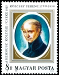 Stamps : Europe : Hungary :   Ferenc Kölcsey