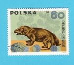 Sellos de Europa - Polonia -  cynognathus  220  mln  lat