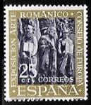 Sellos de Europa - España -  Exposición arte romanico