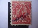 Stamps El Salvador -  Unión Centroamericana - U.P.U. 1899