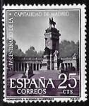 sello : Europa : España : IV centenario de la capitalidad de Madrid -