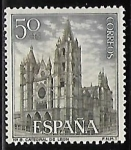 Sellos de America - Estados Unidos -  Catedral de León