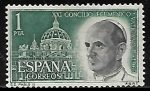 Sellos de Europa - España -  Concilio Ecuménico Vaticano II