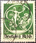 Stamps Germany -  Genius. Deutsches Reich. Baviera. 1920