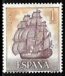Sellos del Mundo : Europa : España :  Homenaje a la Marina Española -