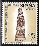 Sellos de Europa - España -  VII centenário de la Reconquista de Jerez