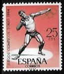 Sellos de Europa - España -  Juegos Olímpicos de Innsbruck y Tokio