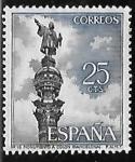 Sellos de Europa - España -  Monumento a Colon Barcelona