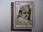 Stamps Asia - Nepal -  34° Cumpleaños del Rey Birendra