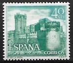 Sellos de Europa - España -  Castillos de España - La Mota - Medina del Campo