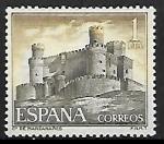 Stamps Spain -  Castillos de España - Manzanares