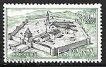 Stamps Spain -  Monasterio de Veruela