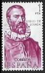sellos de Europa - España -  Diego de Losada