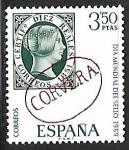 Sellos de Europa - España -  Dia mundial del sello 1969