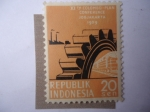 Stamps : Asia : Indonesia :  XIth Colombo-Plan Conference - Jogjakarta 1969 - Conferencia del Plan Colombo