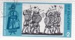 Stamps : Europe : Bulgaria :  Ilustración de una batalla