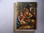 Stamps United Kingdom -  Navidad 1967 - La Adoración de los Pastores