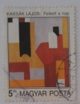 Stamps : Europe : Hungary :   Kassak Lajos