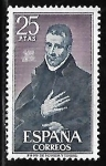 Stamps Spain -  Beato Juan de Ávila