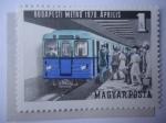 de Europa - Hungría -  Metro subterráneo-Budapest