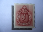 Stamps : Europe : Hungary :  Postage Due - Franqueo