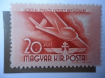 Stamps : Europe : Hungary :  Miklós Horthy (1868-1957)