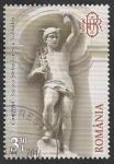 Sellos del Mundo : Europa : Rumania : 5724 - Palacio de la Banca nacional de Rumania, dios del Comercio