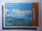 Stamps : Asia : Nepal :  Annapurna I - 8.091m - Turismo
