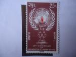 Stamps : Asia : Nepal :  30°Aniversario de la Declaración de los Derechos Humanos