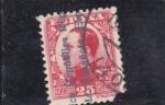 Stamps : Europe : Spain :  Alfonso XIII-sobrecargado (34)
