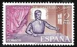 sellos de Europa - España -  XIV Congreso Mundial de Sastrería 1970
