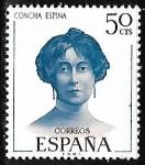 Stamps of the world : Spain :   Literatos Españoles - Concha Espino