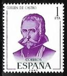 Sellos de Europa - España -  Literatos Españoles - Guillén de Castro