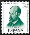 Sellos de Europa - España -  Literatos Españoles - Juan Ramón Jimenes