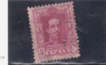 Stamps : Europe : Spain :  Alfonso XIII- Tipo Vaquer (34)