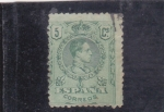 Stamps : Europe : Spain :  Alfonso XIII-Medallon (34)