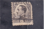 Stamps Spain -  Alfonso XIII- tipo Vaquer (34)