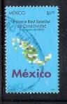 Sellos de America - México -  Primera Red de Conectividad Satelital