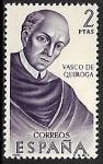 de Europa - España -  Forjadores de América - Vasco de Quiroga