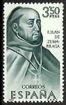 Stamps Spain -  F. Juan de Zumarraga