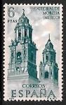 de Europa - España -  Forjadores de América -Catedral de Morella (Méjico)